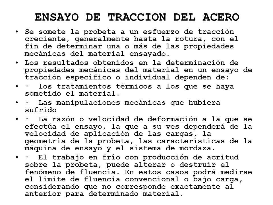 ENSAYO DE TRACCION DEL ACERO
