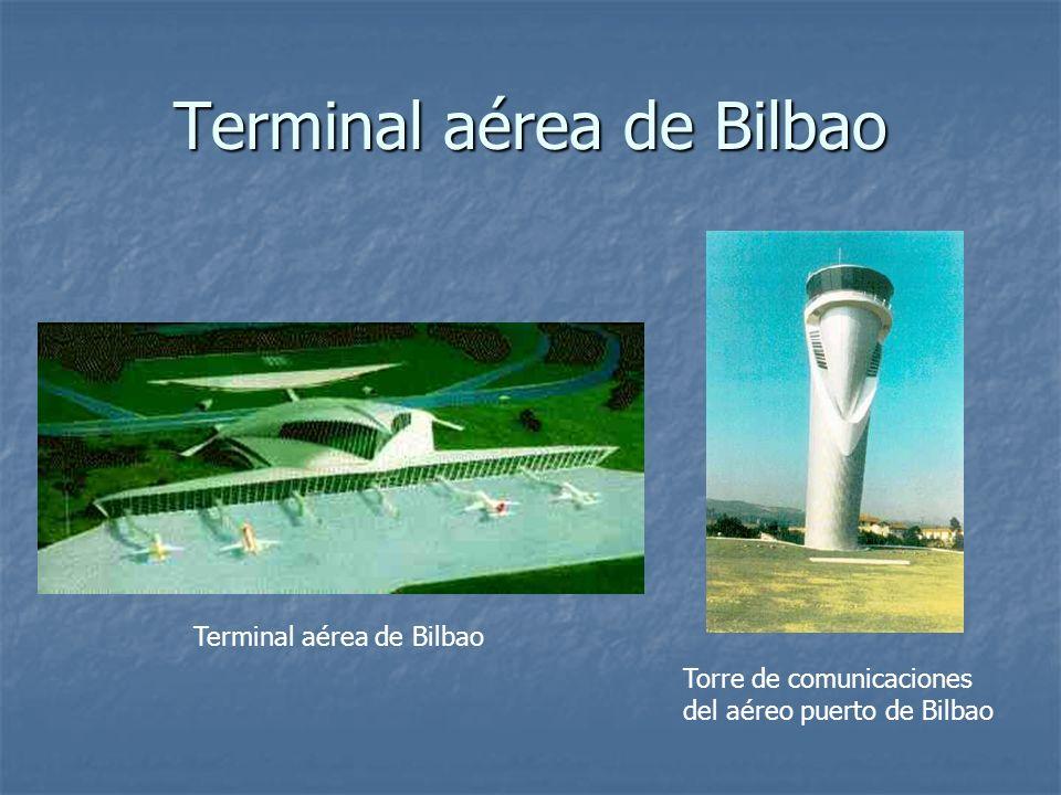 Terminal aérea de Bilbao