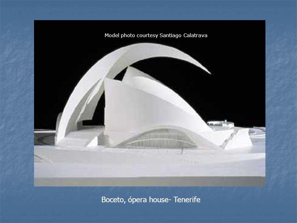 Boceto, ópera house- Tenerife