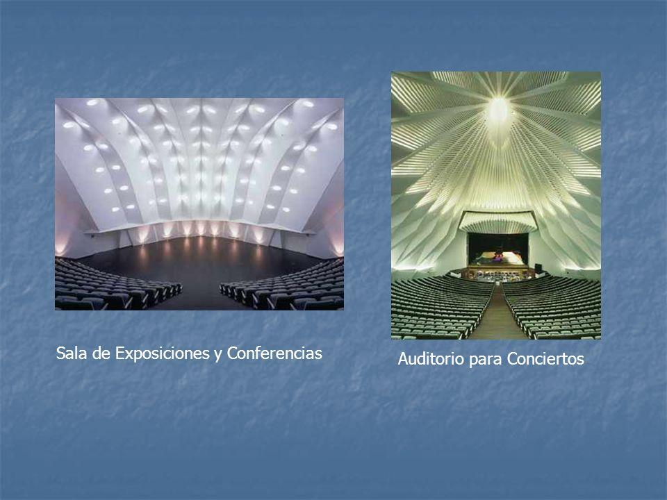 Sala de Exposiciones y Conferencias