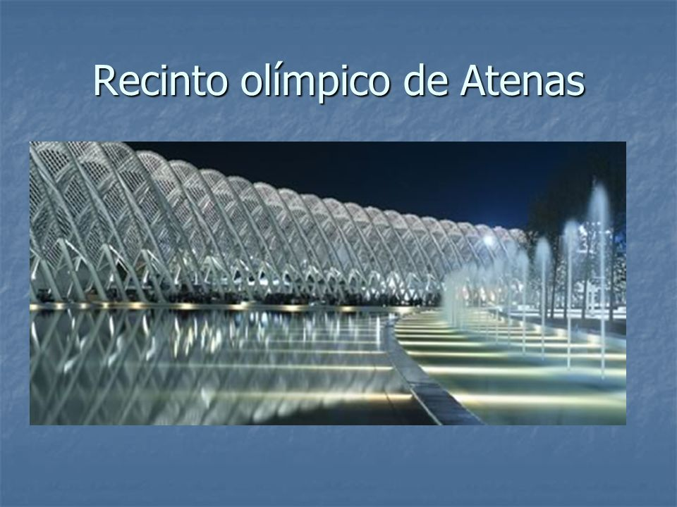 Recinto olímpico de Atenas