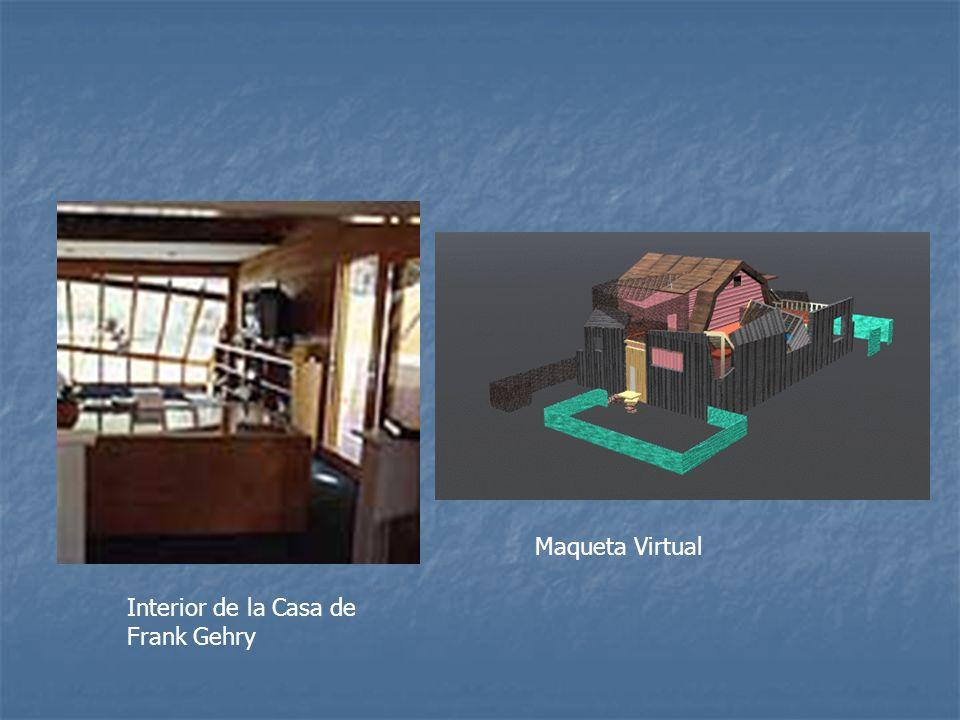 Maqueta Virtual Interior de la Casa de Frank Gehry
