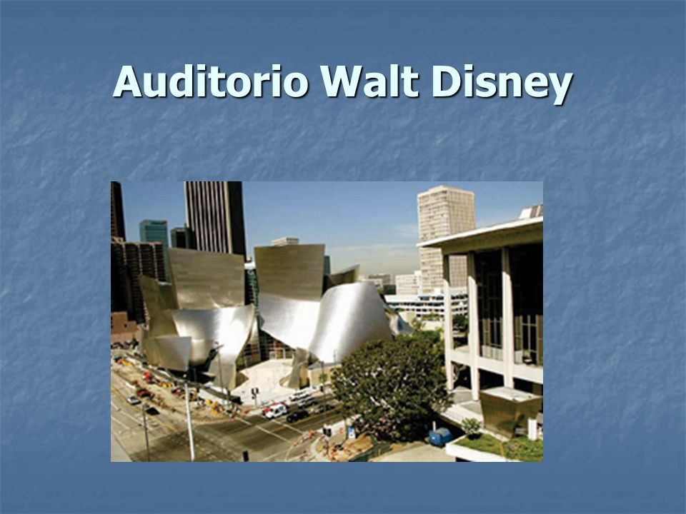 Auditorio Walt Disney