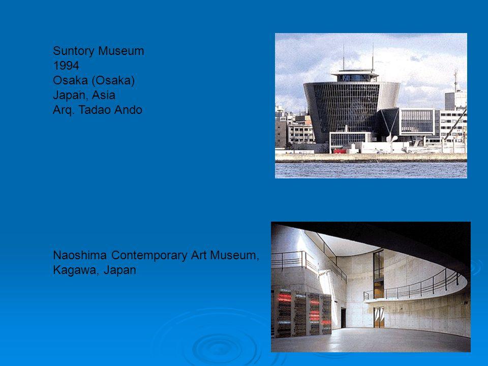 Suntory Museum 1994 Osaka (Osaka) Japaَn, Asia Arq. Tadao Ando
