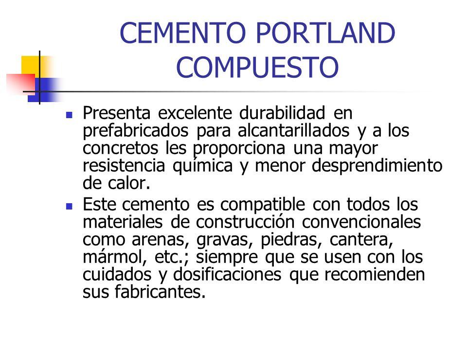 CEMENTO PORTLAND COMPUESTO