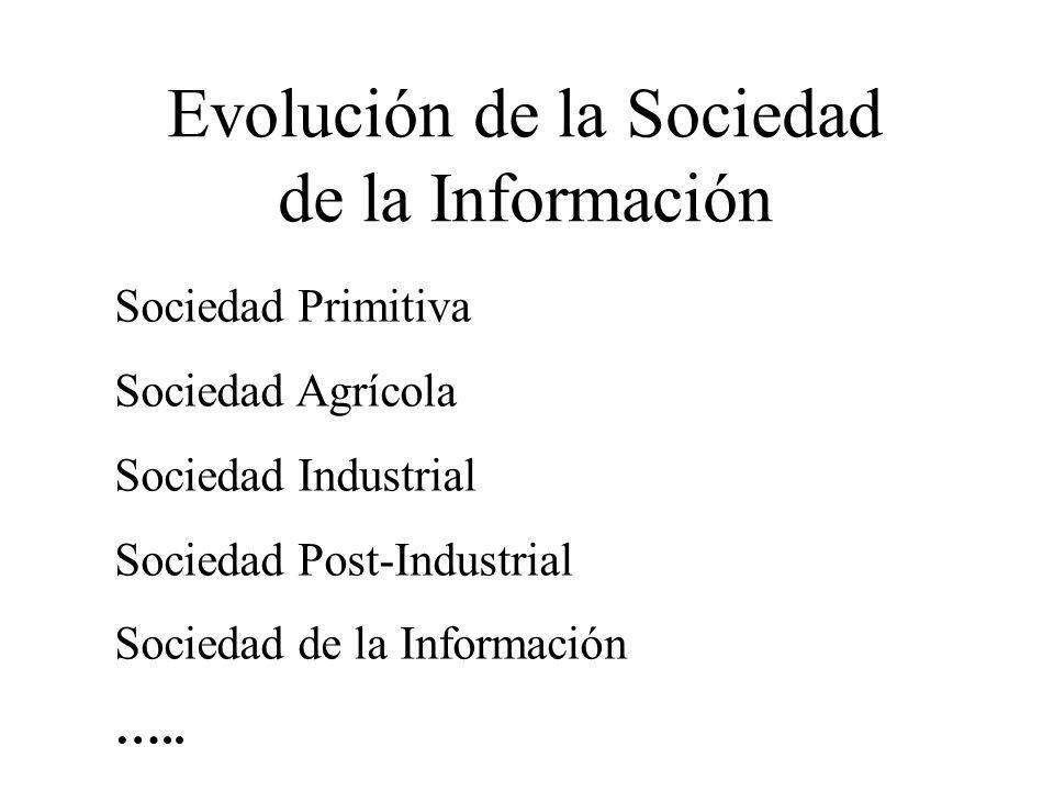 Evolución de la Sociedad de la Información