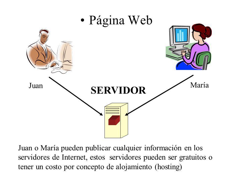 Página Web SERVIDOR Juan María