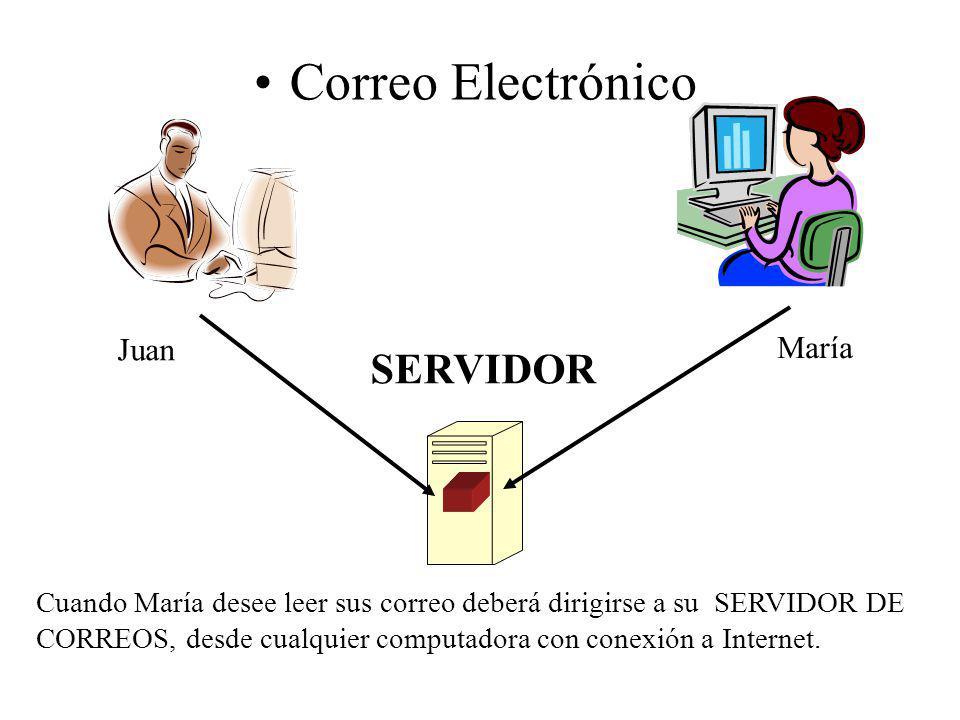 Correo Electrónico SERVIDOR Juan María