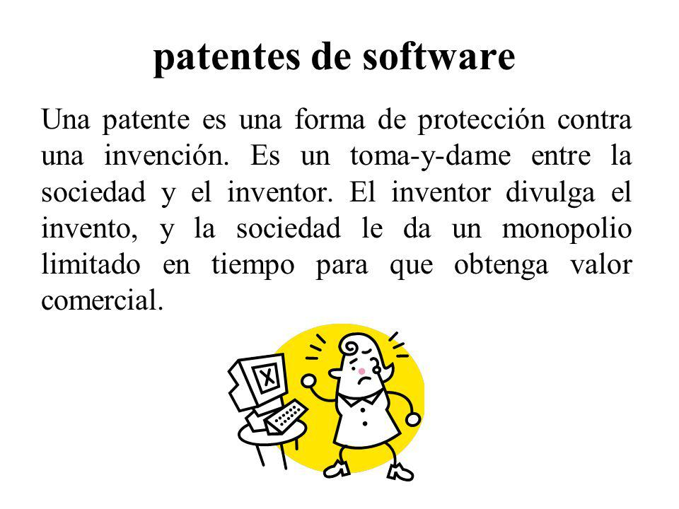 patentes de software
