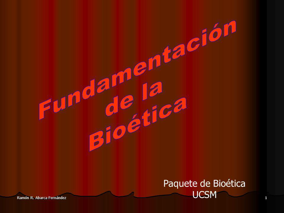 Paquete de Bioética UCSM