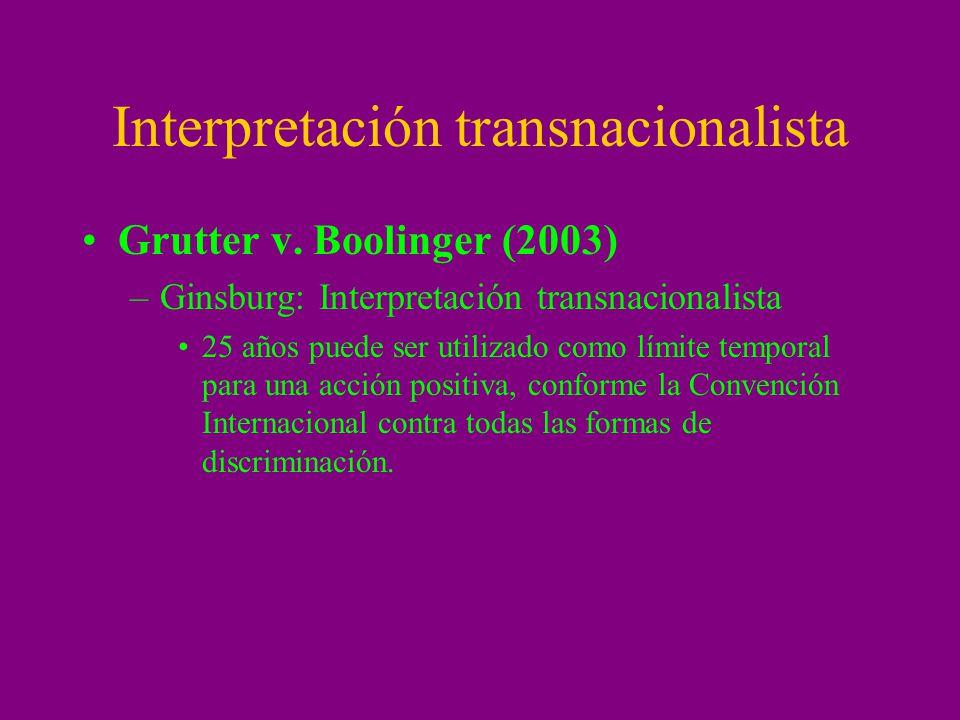 Interpretación transnacionalista