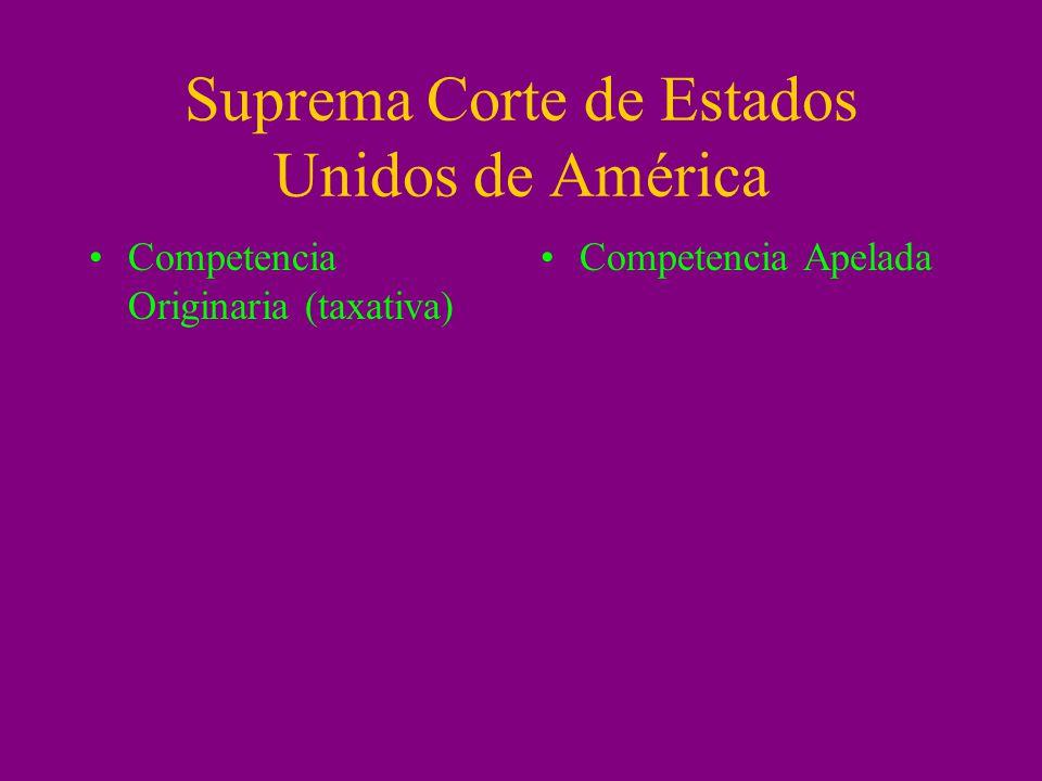 Suprema Corte de Estados Unidos de América