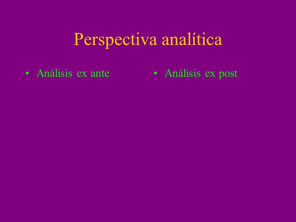 Perspectiva analítica