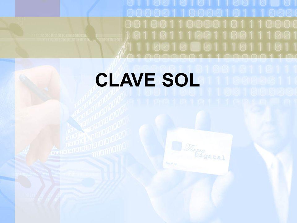 CLAVE SOL