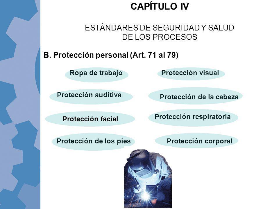 ESTÁNDARES DE SEGURIDAD Y SALUD