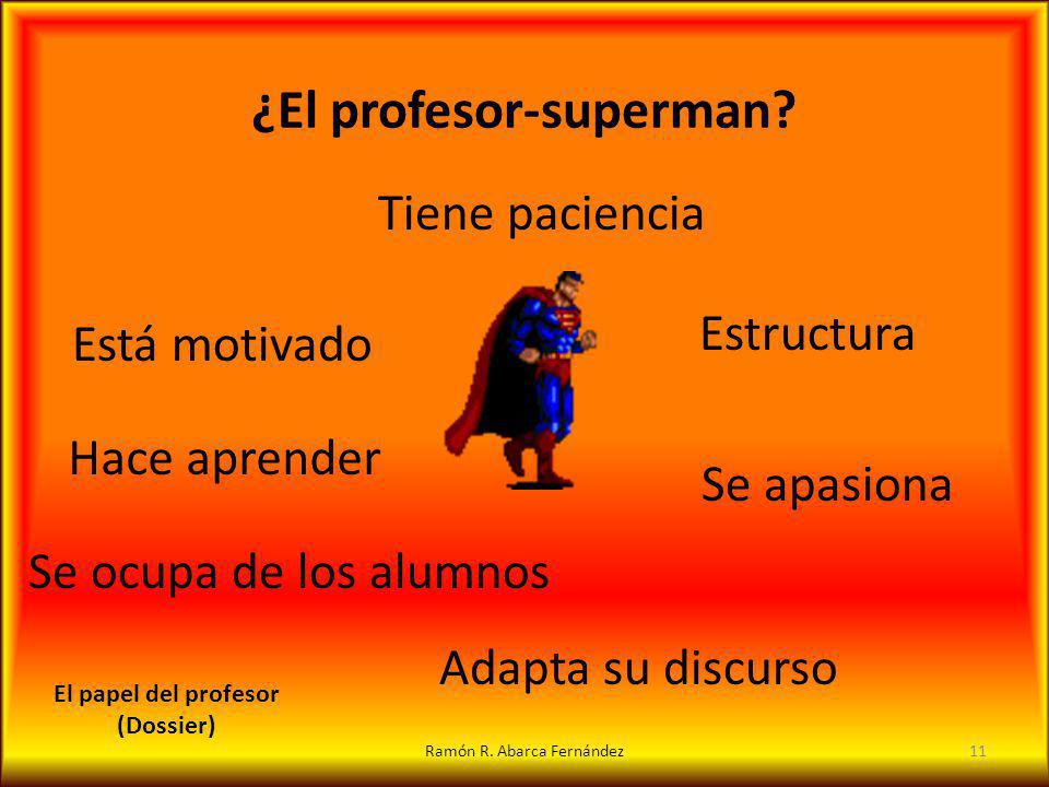 ¿El profesor-superman