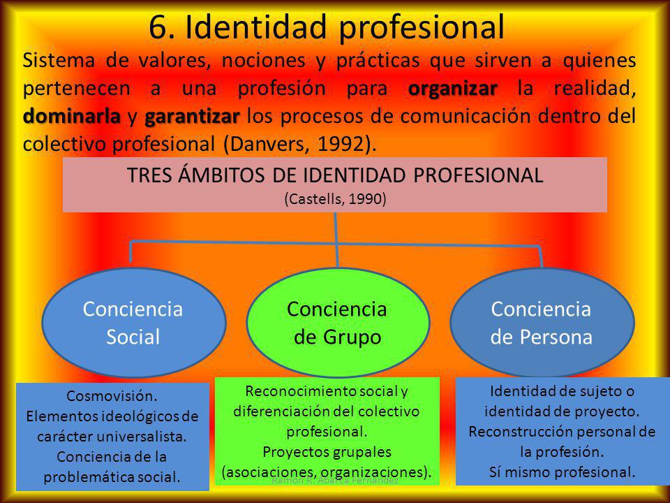 6. Identidad profesional