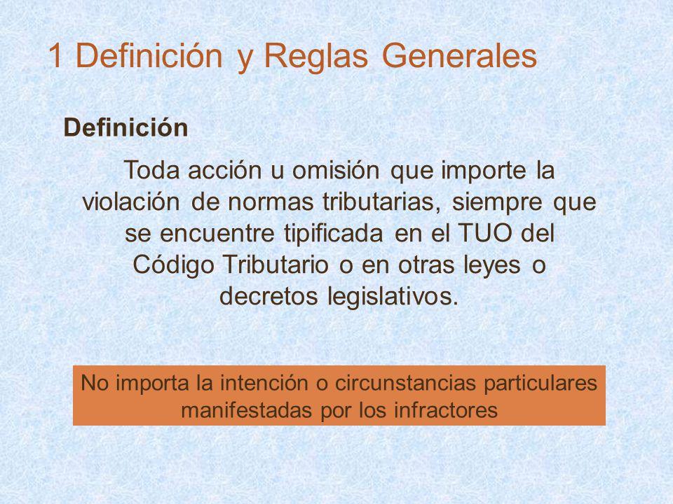 1 Definición y Reglas Generales