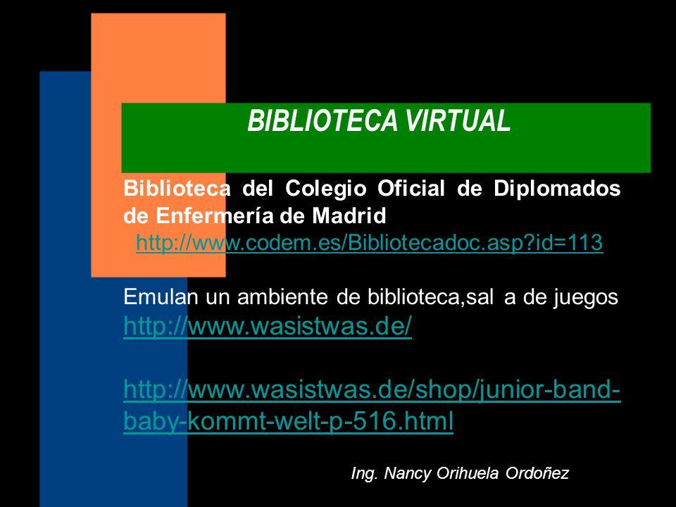Ing. Nancy Orihuela Ordoñez