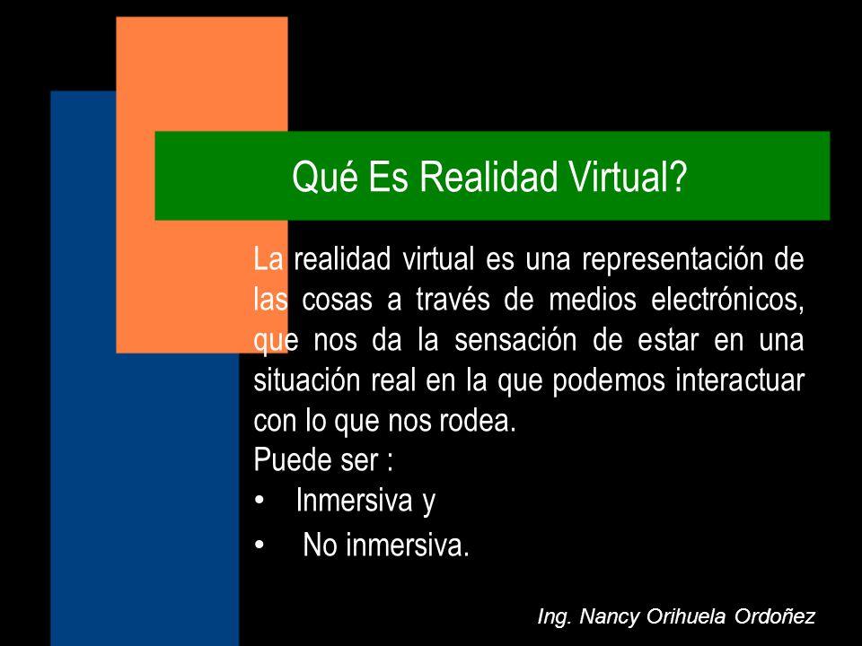Qué Es Realidad Virtual