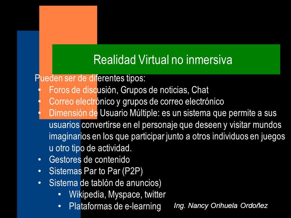 Realidad Virtual no inmersiva