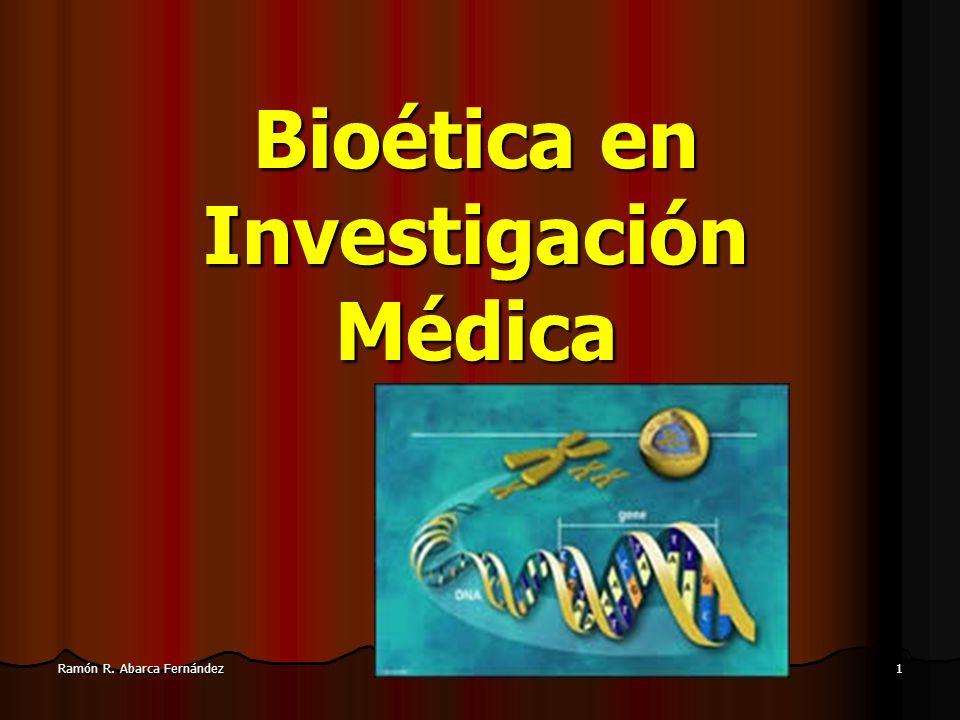 Bioética en Investigación Médica