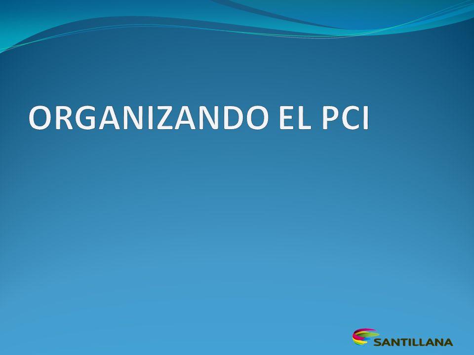 ORGANIZANDO EL PCI