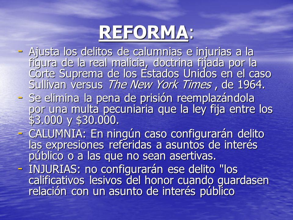 REFORMA: