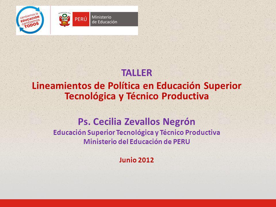 Ps. Cecilia Zevallos Negrón