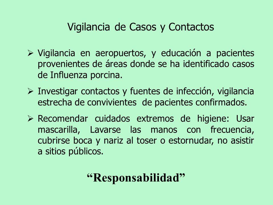 Vigilancia de Casos y Contactos