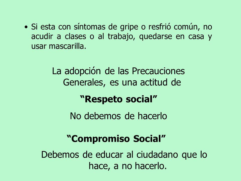 Respeto social Compromiso Social