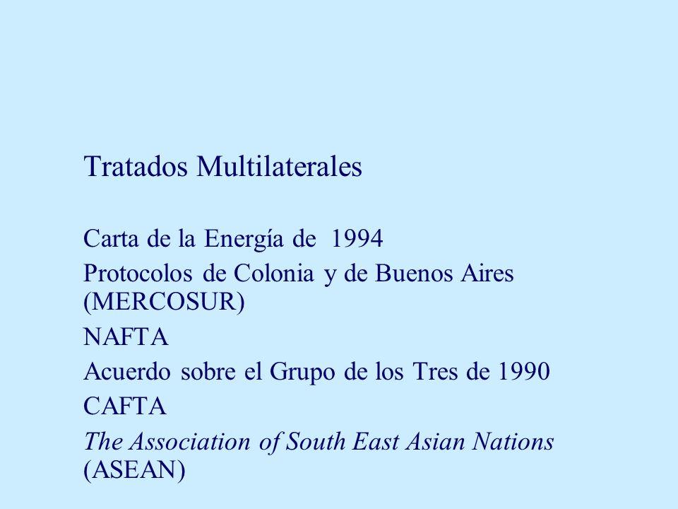 Tratados Multilaterales