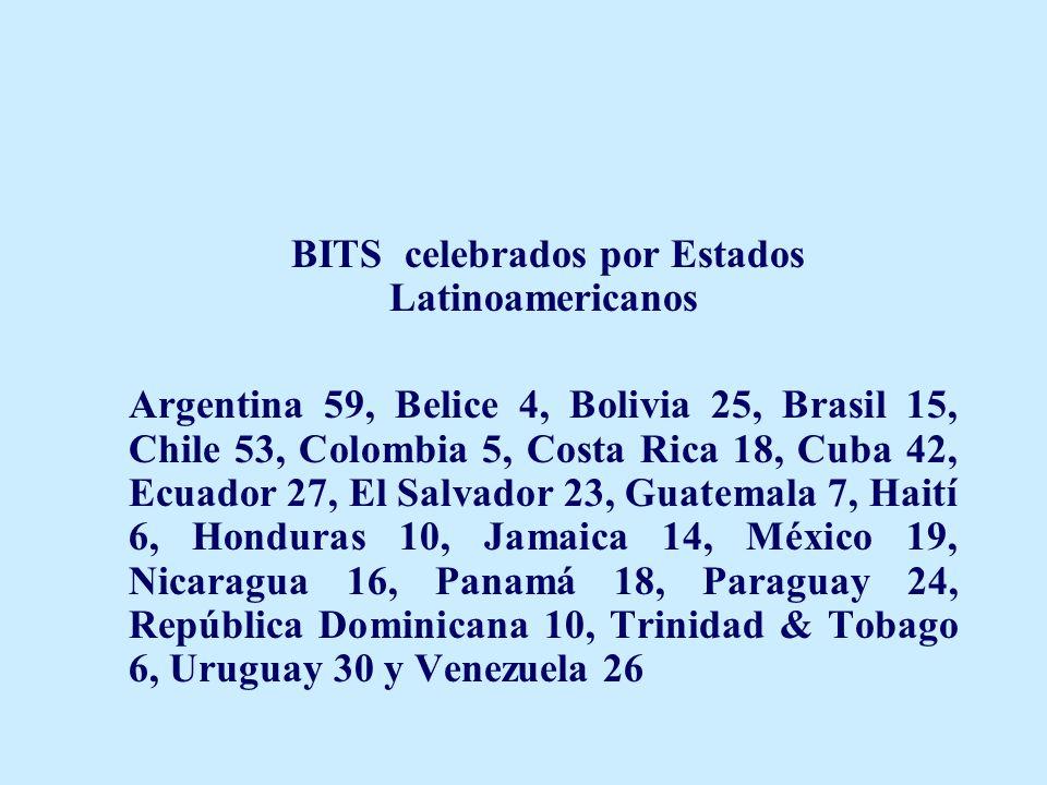 BITS celebrados por Estados Latinoamericanos