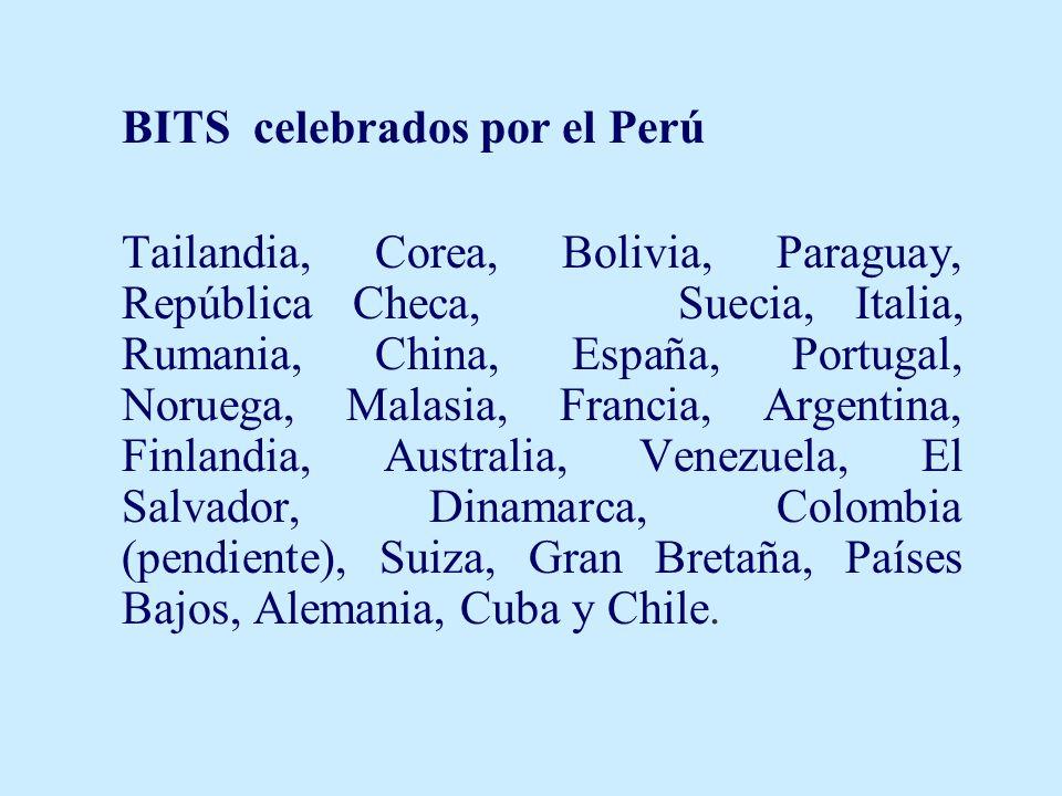 BITS celebrados por el Perú
