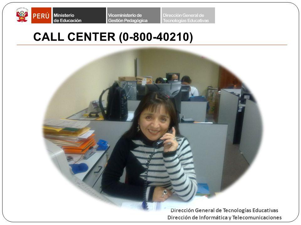 CALL CENTER (0-800-40210)