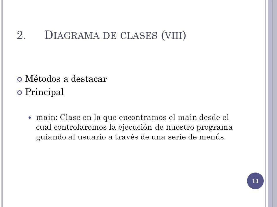 2. Diagrama de clases (viii)