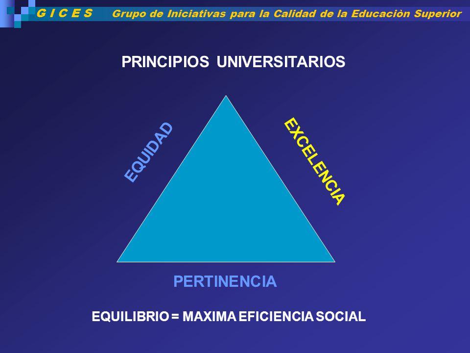 PRINCIPIOS UNIVERSITARIOS