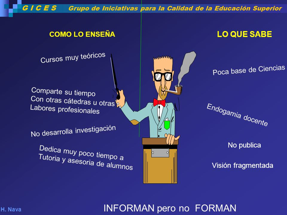 INFORMAN pero no FORMAN