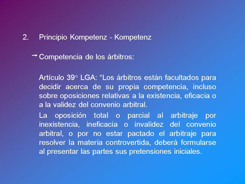 2. Principio Kompetenz - Kompetenz