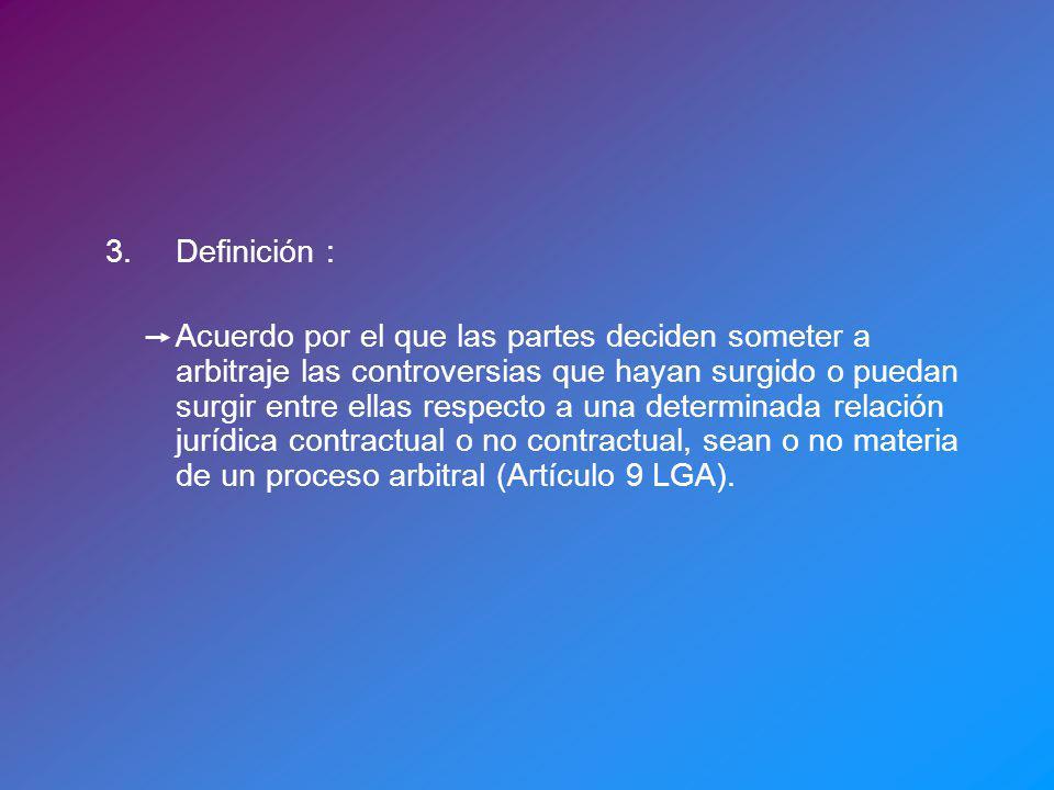 3. Definición :