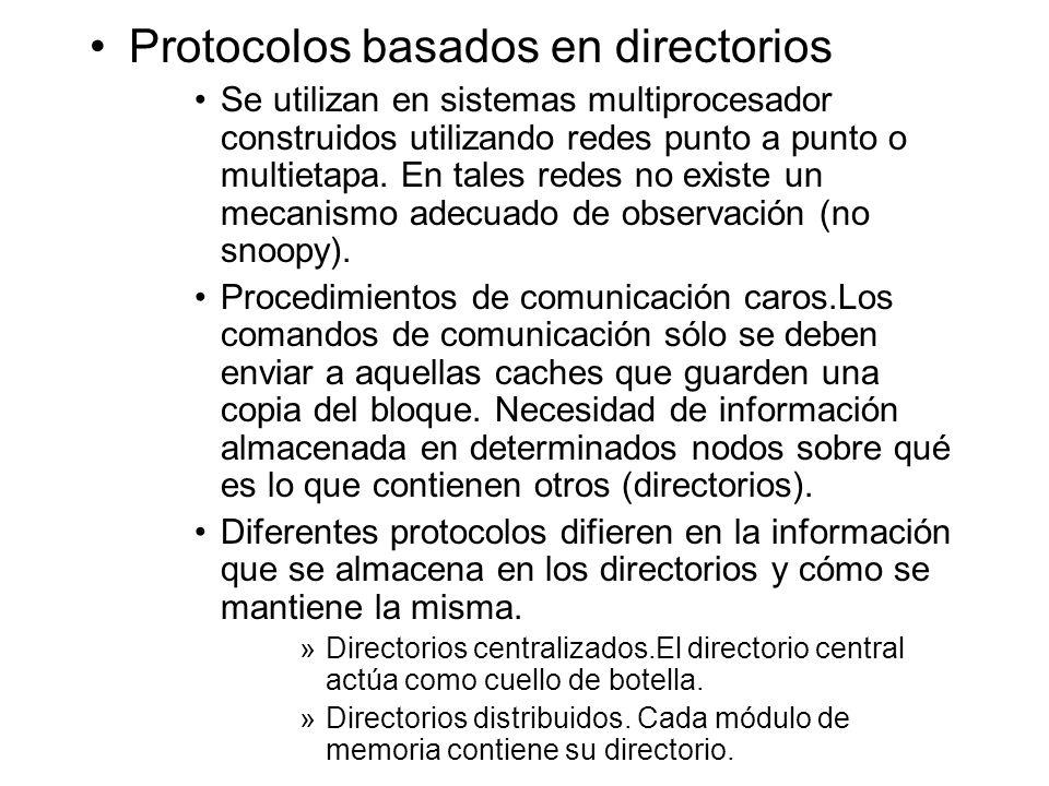 Protocolos basados en directorios