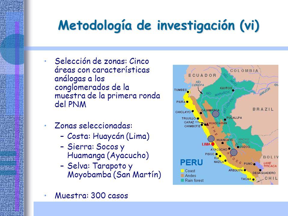 Metodología de investigación (vi)