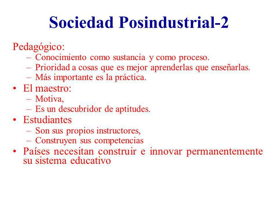 Sociedad Posindustrial-2