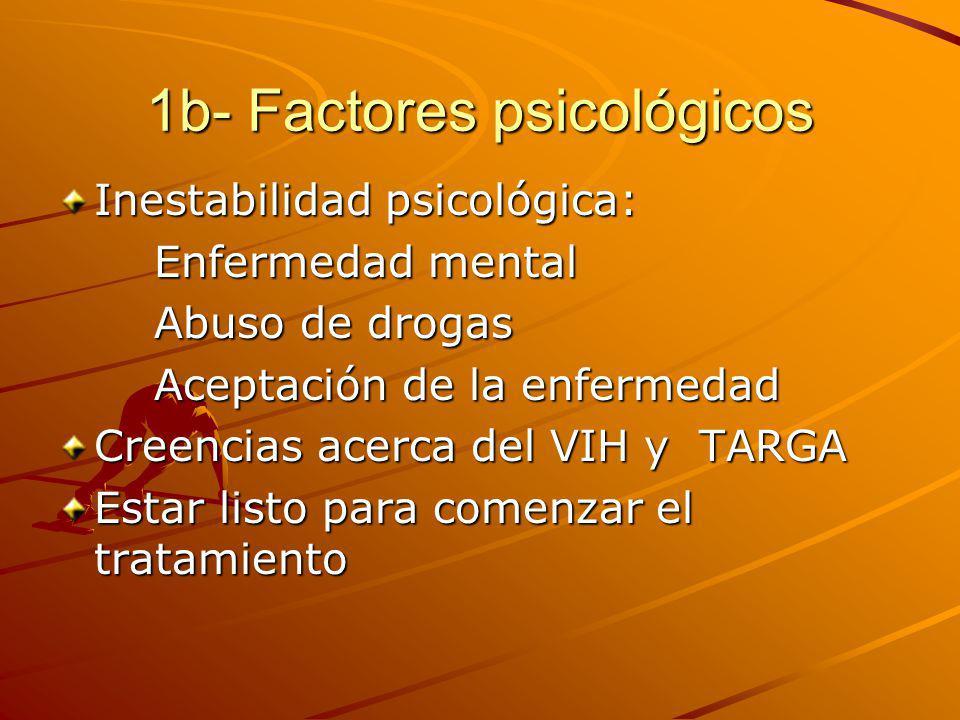 1b- Factores psicológicos
