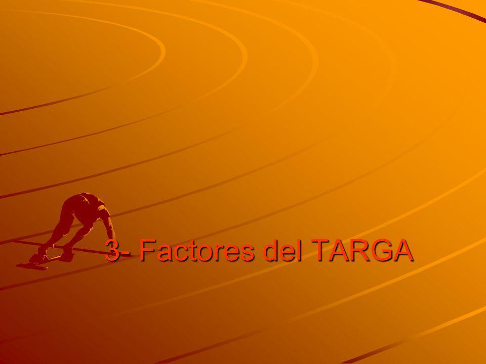 3- Factores del TARGA