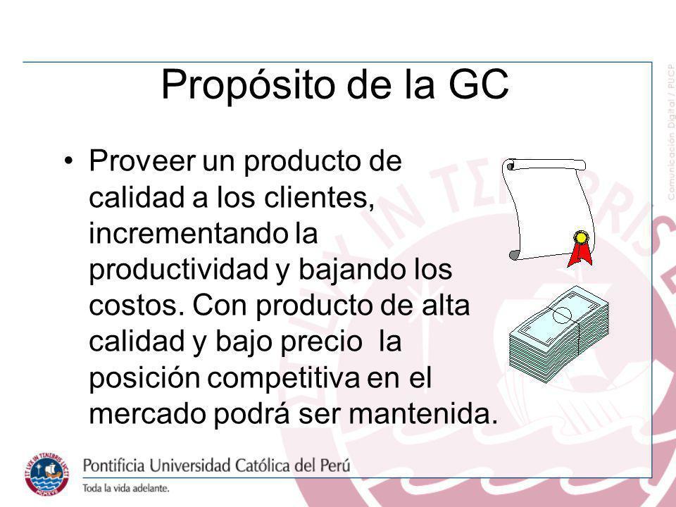 Propósito de la GC