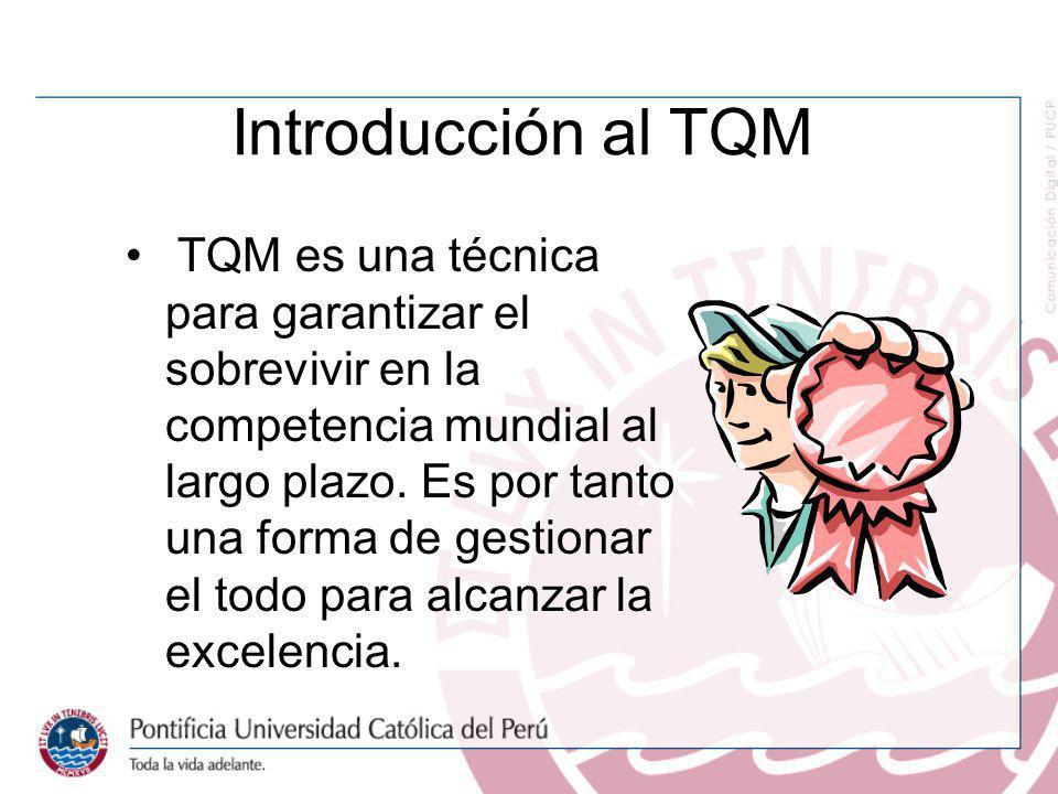 Introducción al TQM