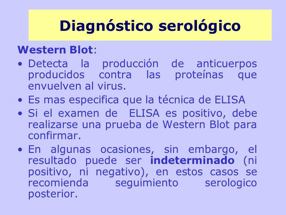 Diagnóstico serológico
