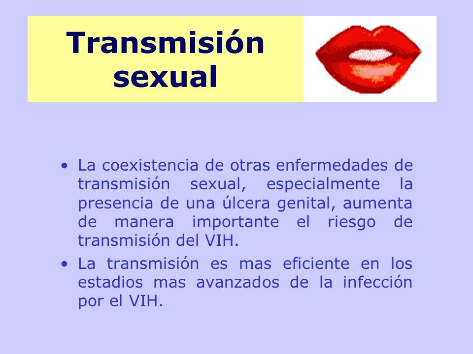 Transmisión sexual
