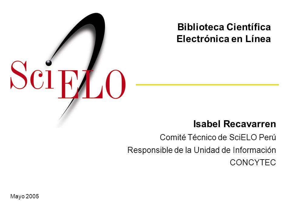 Biblioteca Científica Electrónica en Línea